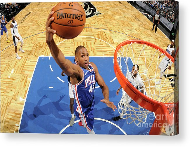 Nba Pro Basketball Acrylic Print featuring the photograph Al Horford by Fernando Medina