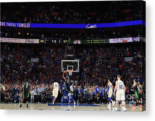 Playoffs Acrylic Print featuring the photograph Al Horford by Jesse D. Garrabrant