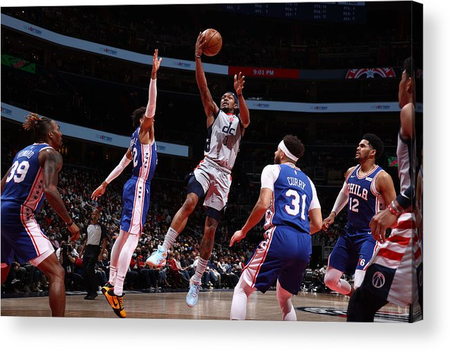 Playoffs Acrylic Print featuring the photograph Bradley Beal by Stephen Gosling