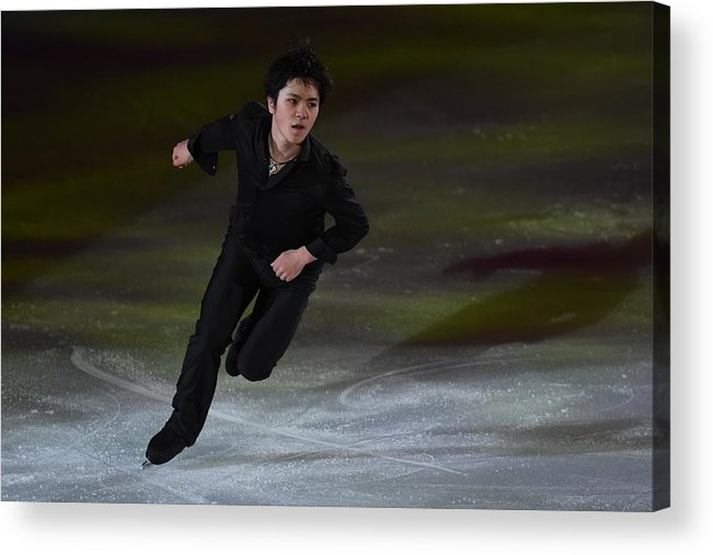 People Acrylic Print featuring the photograph Japan Figure Skating Championships 2016 - Exhibition by Atsushi Tomura