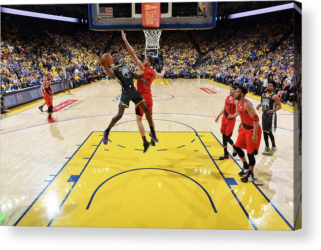 Game Two Acrylic Print featuring the photograph Jordan Bell by Andrew D. Bernstein