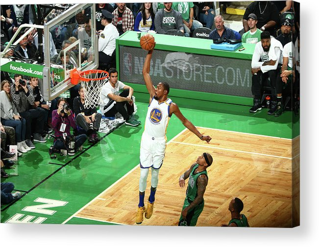 Nba Pro Basketball Acrylic Print featuring the photograph Kevin Durant by Nathaniel S. Butler