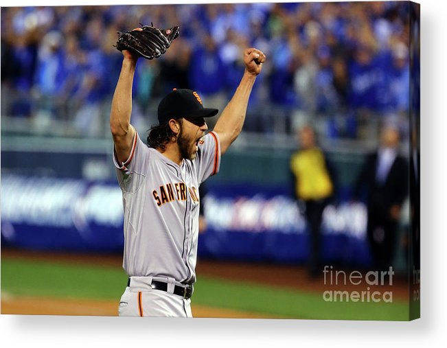 People Acrylic Print featuring the photograph Madison Bumgarner by Elsa