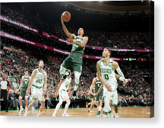 Playoffs Acrylic Print featuring the photograph George Hill by Nathaniel S. Butler