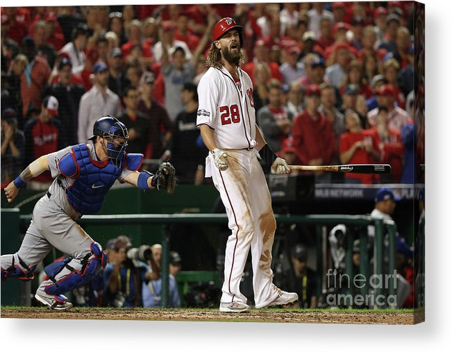Ninth Inning Acrylic Print featuring the photograph Jayson Werth by Patrick Smith