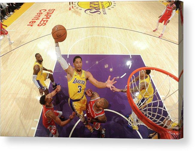 Nba Pro Basketball Acrylic Print featuring the photograph Josh Hart by Andrew D. Bernstein