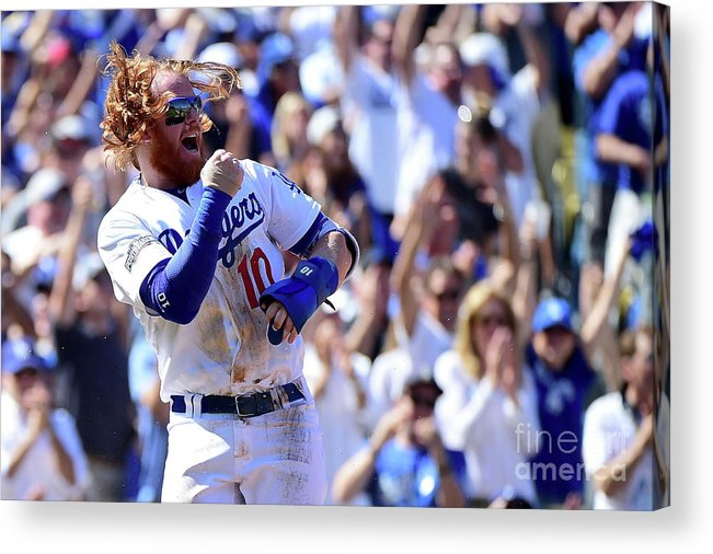 Three Quarter Length Acrylic Print featuring the photograph Justin Turner by Harry How