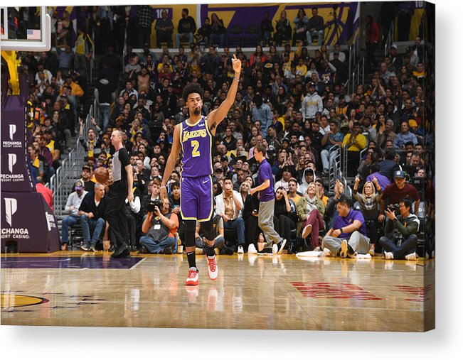 Nba Pro Basketball Acrylic Print featuring the photograph Quinn Cook by Andrew D. Bernstein