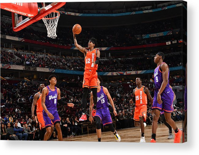 Nba Pro Basketball Acrylic Print featuring the photograph 2020 NBA All-Star - Rising Stars Game by Jesse D. Garrabrant