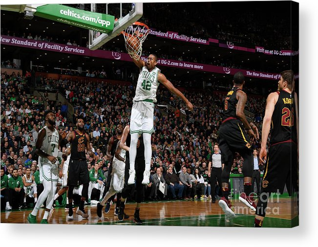 Nba Pro Basketball Acrylic Print featuring the photograph Al Horford by Brian Babineau