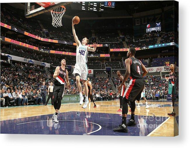 Nba Pro Basketball Acrylic Print featuring the photograph Cody Zeller by Kent Smith