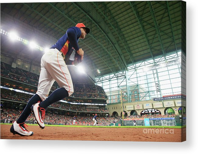 People Acrylic Print featuring the photograph George Springer by Scott Halleran