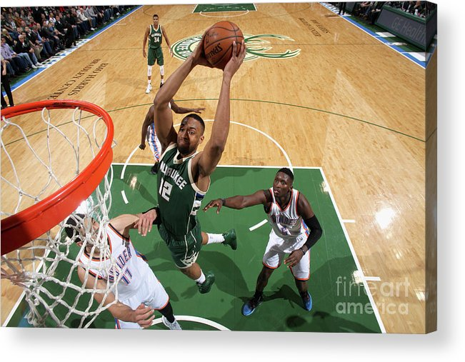 Nba Pro Basketball Acrylic Print featuring the photograph Jabari Parker by Gary Dineen