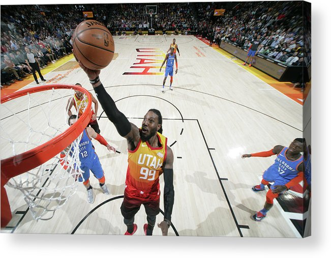 Nba Pro Basketball Acrylic Print featuring the photograph Jae Crowder by Melissa Majchrzak