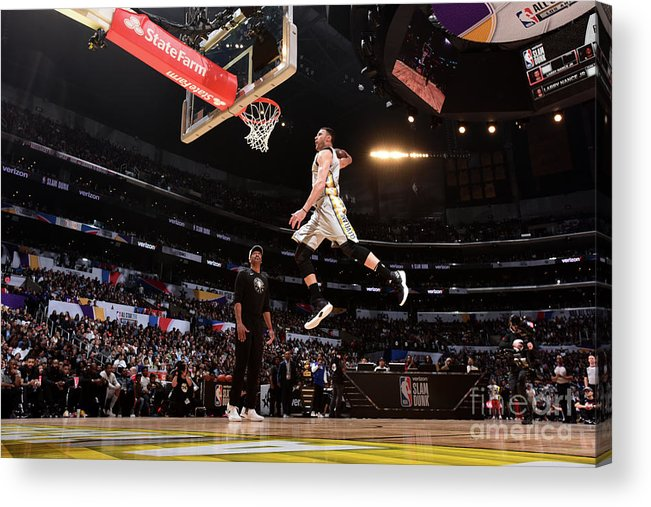 Event Acrylic Print featuring the photograph Larry Nance by Andrew D. Bernstein