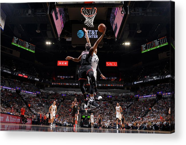 Playoffs Acrylic Print featuring the photograph James Harden by Jesse D. Garrabrant