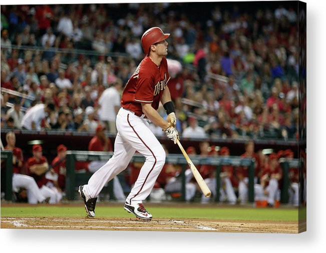 People Acrylic Print featuring the photograph Paul Goldschmidt by Christian Petersen