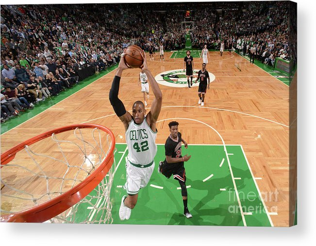 Playoffs Acrylic Print featuring the photograph Al Horford by Brian Babineau
