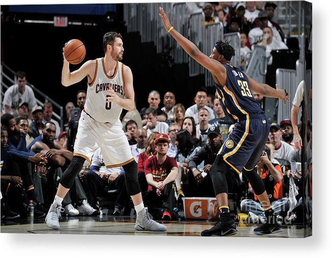 Playoffs Acrylic Print featuring the photograph Kevin Love by David Liam Kyle