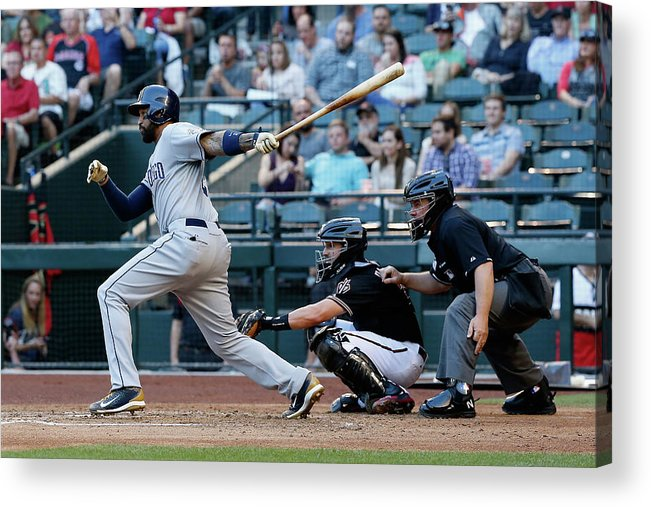 People Acrylic Print featuring the photograph Matt Kemp by Christian Petersen