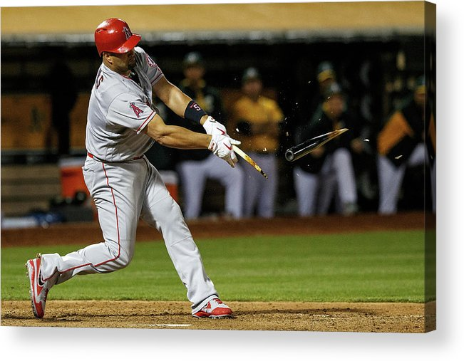 Ninth Inning Acrylic Print featuring the photograph Albert Pujols by Jason O. Watson
