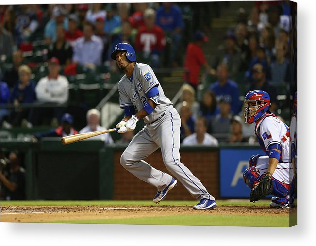 People Acrylic Print featuring the photograph Alcides Escobar by Ronald Martinez