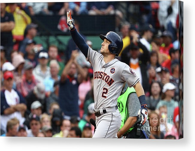 Alex Bregman Acrylic Print featuring the photograph Alex Bregman by Maddie Meyer