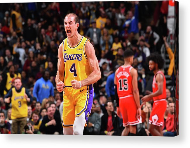 Nba Pro Basketball Acrylic Print featuring the photograph Alex Caruso by Jesse D. Garrabrant