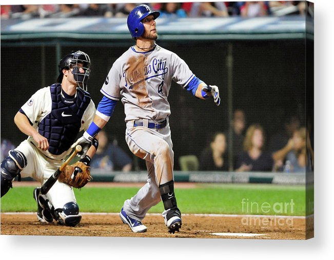 American League Baseball Acrylic Print featuring the photograph Alex Gordon by Jason Miller