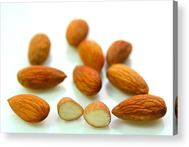 Nut Acrylic Print featuring the photograph Almond by Jayk7