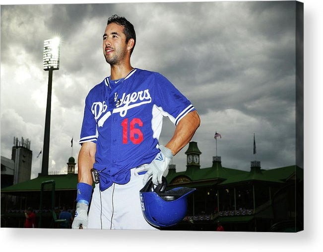 Season Acrylic Print featuring the photograph Andre Ethier by Matt King