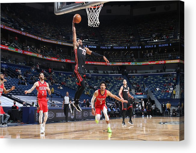 Smoothie King Center Acrylic Print featuring the photograph Andre Iguodala by Layne Murdoch Jr.