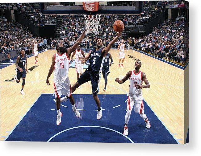Nba Pro Basketball Acrylic Print featuring the photograph Andrew Harrison by Joe Murphy