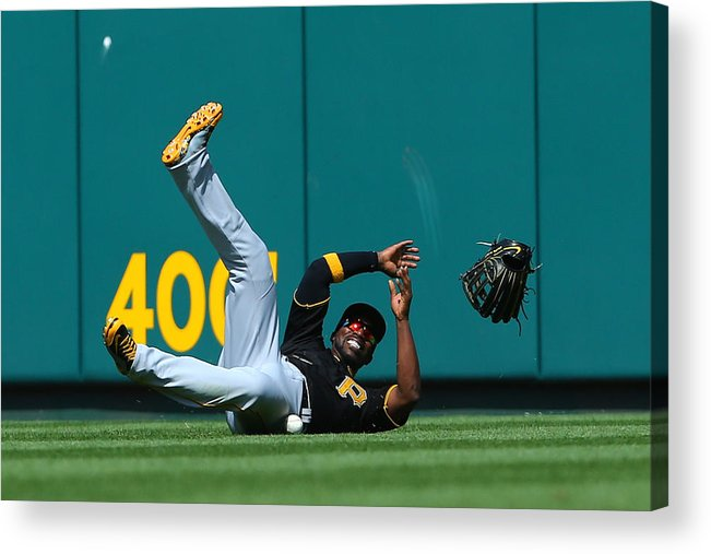 St. Louis Cardinals Acrylic Print featuring the photograph Andrew Mccutchen by Dilip Vishwanat