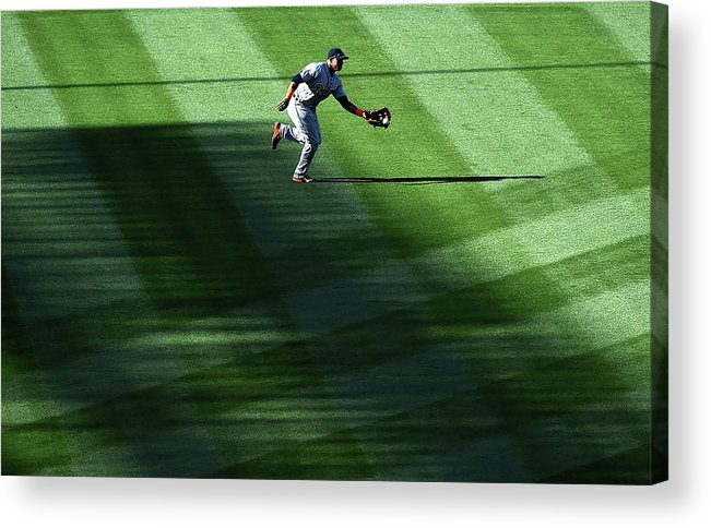Second Inning Acrylic Print featuring the photograph Anthony Gose by Harry How
