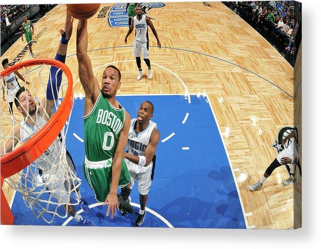 Nba Pro Basketball Acrylic Print featuring the photograph Avery Bradley by Fernando Medina