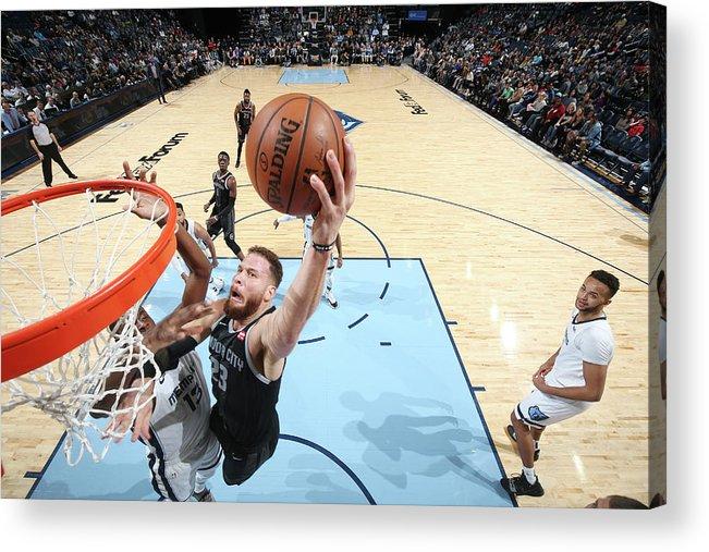 Nba Pro Basketball Acrylic Print featuring the photograph Blake Griffin by Joe Murphy