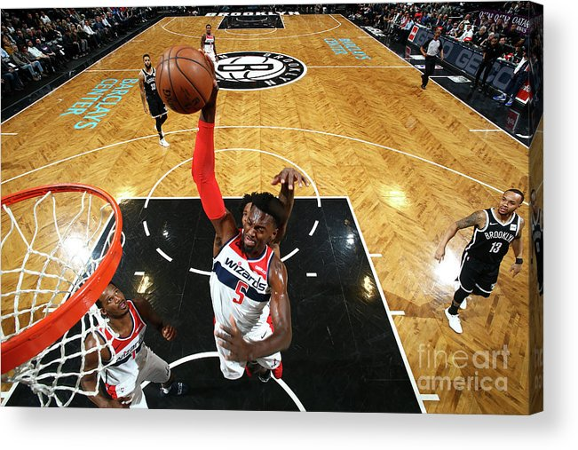 Nba Pro Basketball Acrylic Print featuring the photograph Bobby Portis by Nathaniel S. Butler