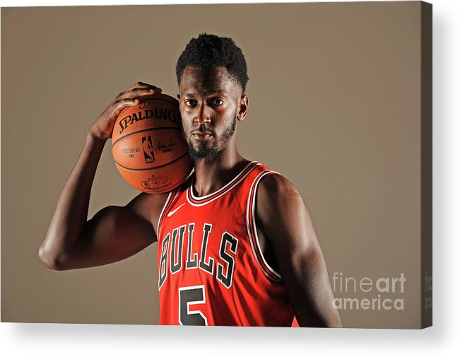 Media Day Acrylic Print featuring the photograph Bobby Portis by Randy Belice