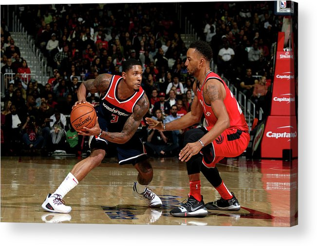 Nba Pro Basketball Acrylic Print featuring the photograph Bradley Beal by Stephen Gosling