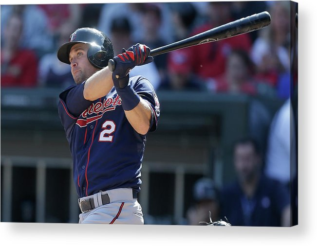 People Acrylic Print featuring the photograph Brian Dozier by Mike Mcginnis