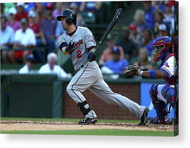 People Acrylic Print featuring the photograph Brian Dozier by Sarah Crabill