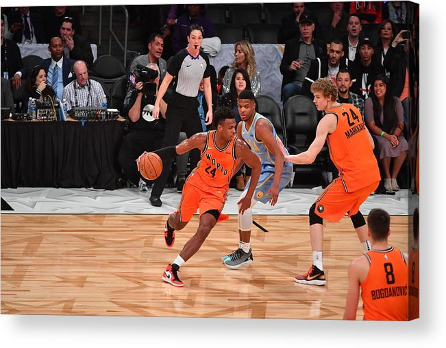 Event Acrylic Print featuring the photograph Buddy Hield by Jesse D. Garrabrant