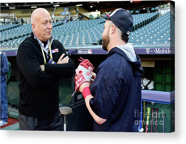 People Acrylic Print featuring the photograph Cal Ripken by Jason Miller