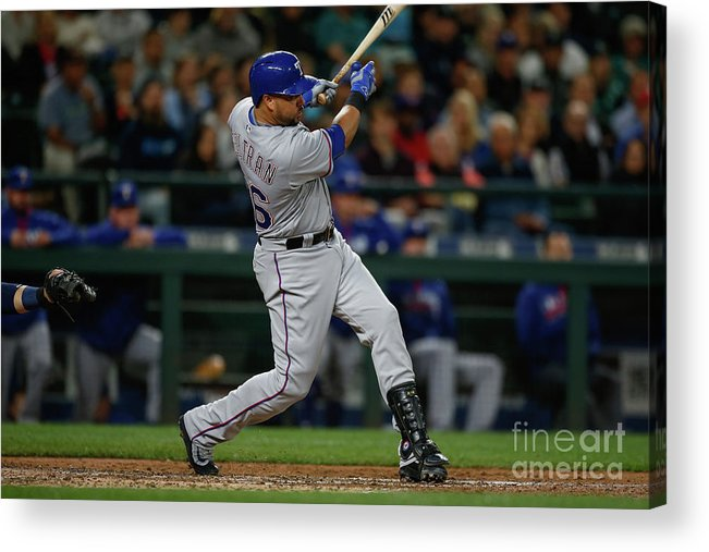 Second Inning Acrylic Print featuring the photograph Carlos Beltran by Otto Greule Jr