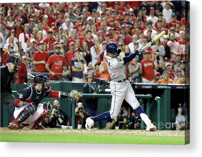 People Acrylic Print featuring the photograph Carlos Correa by Rob Carr