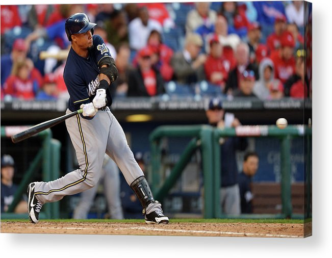 Opening Acrylic Print featuring the photograph Carlos Gomez by Drew Hallowell