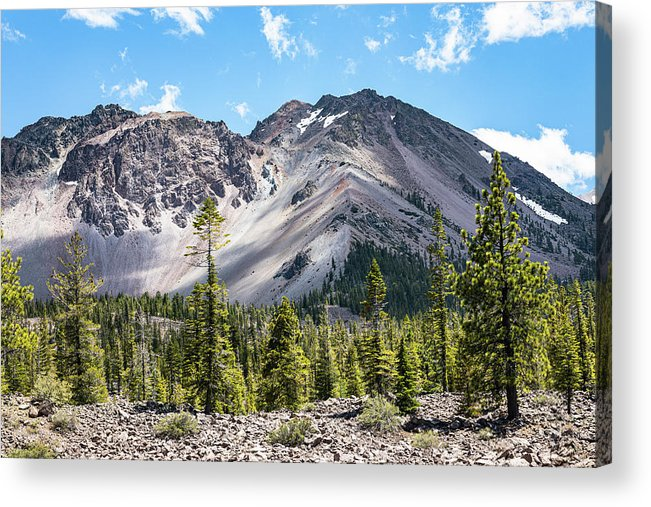 Mountains Acrylic Print featuring the photograph Chaos Crags by John Heywood