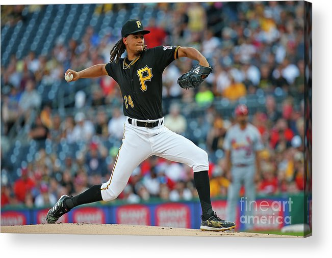 People Acrylic Print featuring the photograph Chris Archer by Justin K. Aller