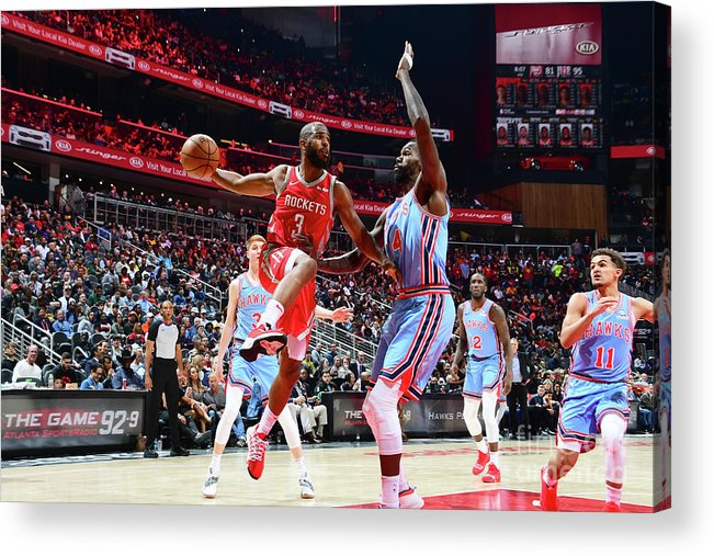 Atlanta Acrylic Print featuring the photograph Chris Paul by Scott Cunningham